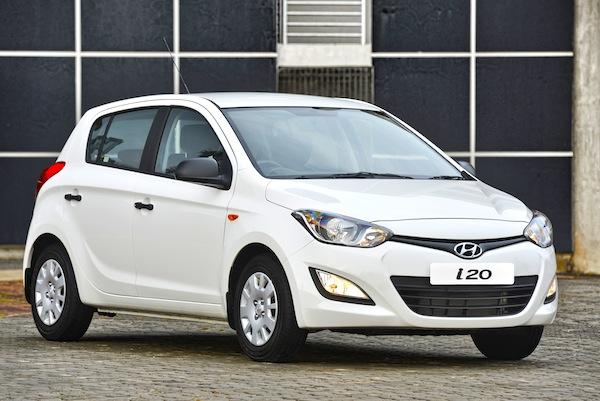 Hyundai İ20 dolu